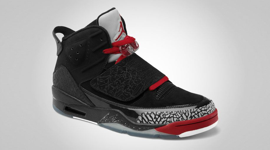 Jordan Son of Mars - Black/Varsity Red-Cement Grey-White - Official Photos
