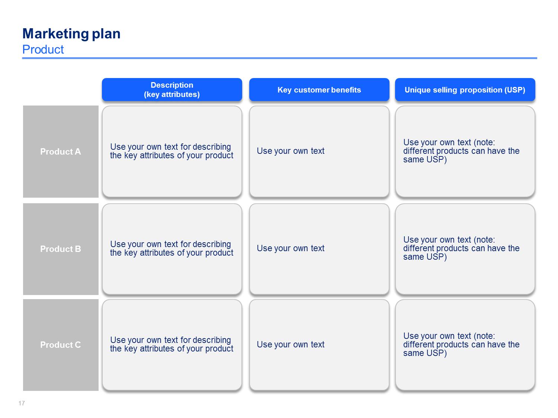 Marketing Strategy & Plan Template   Marketing plan template ...