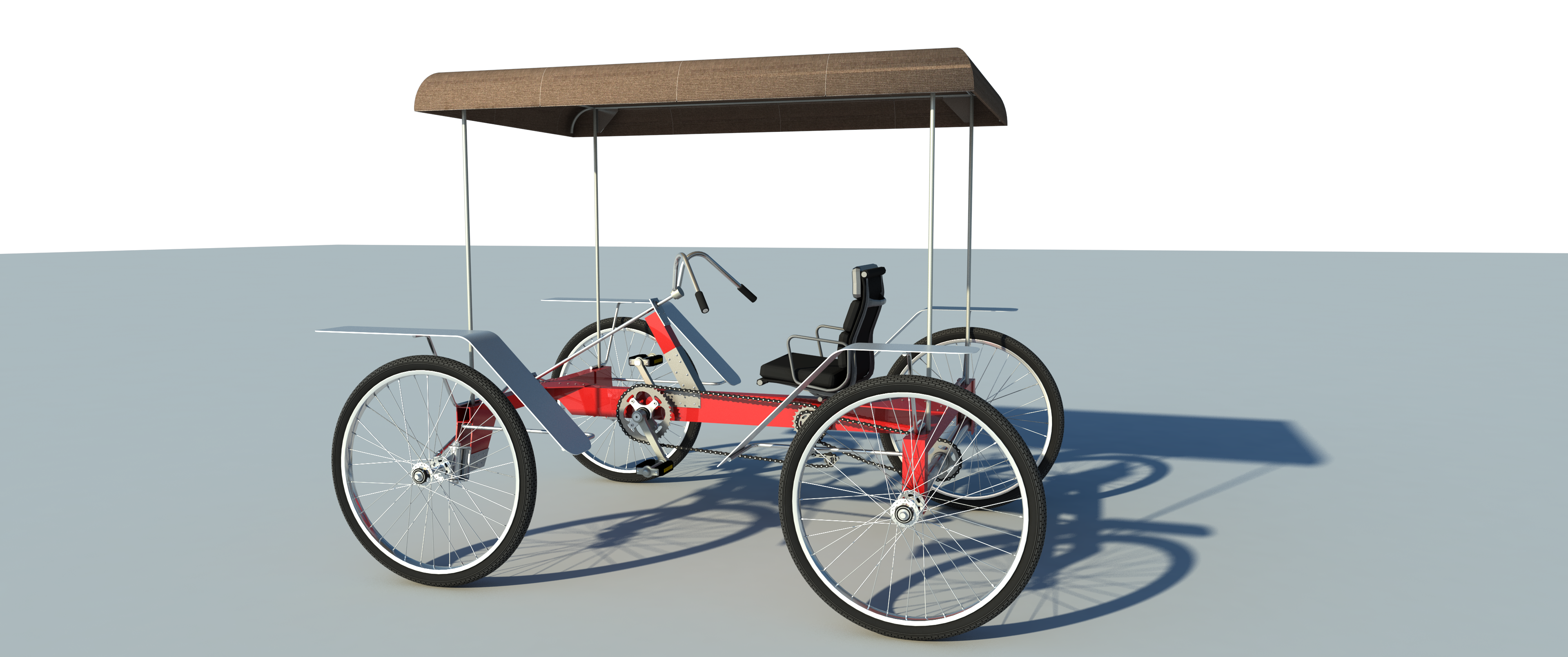 Build Your Own 4 Wheel Pedal Bike Car Diy Plans Pedicab