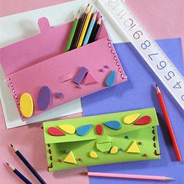 2ed91e3e77 Vidám, színes, dekorgumi ceruza- vagy tolltartó - Art-Export webáruház