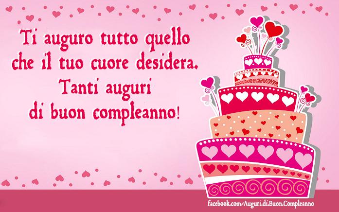 Auguri Di Buon Compleanno Personalizzati Auguri Happy Birthday