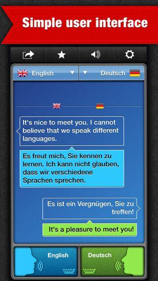 SayHi Translate er en app, der oversætter din mundtlige tale til andre sprog. 100 forskellige sprog. App'en koster 39 kr.