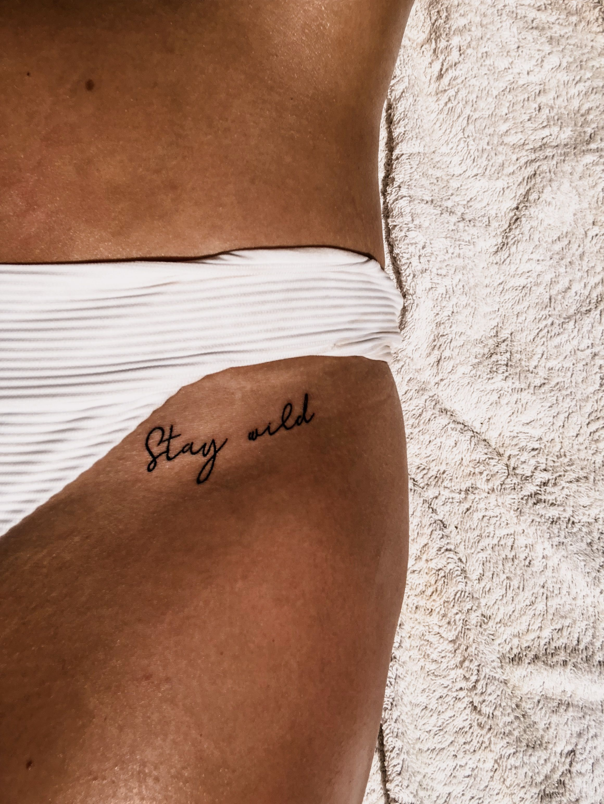 Photo of Stay wild tattoo