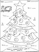Math Christmas Coloring Sheets.pdf Christmas math