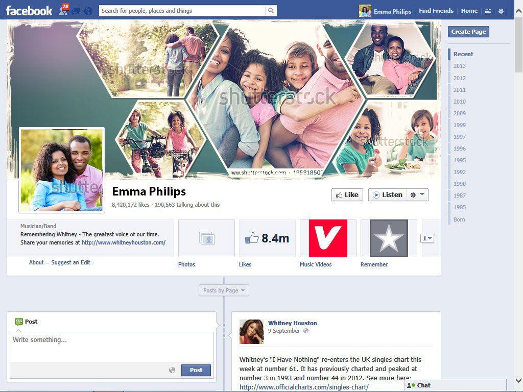Facebook Covers ile Zaman Tüneli imajını Değiştirme