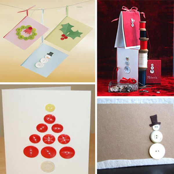 5 tarjetas de Navidad hechas a mano Tarjetas, Navidad y Nuevas ideas