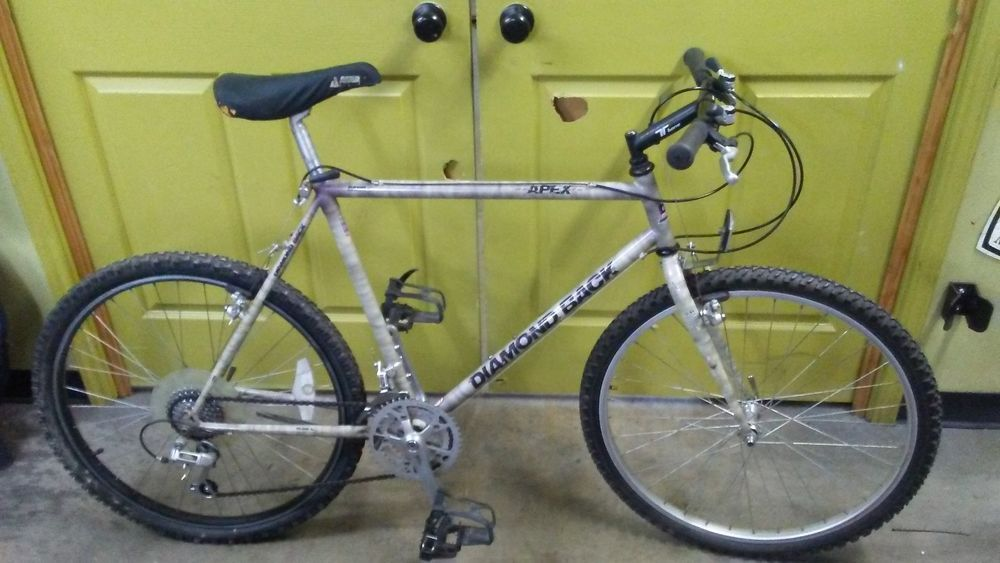 585b7aff5ca Latest Diamondback Bike for sales #diamondbackbike #diamondback #bike  Diamond Back APEX MTB Bike 21 inches steel white smoke 7 Speed vintage  bicycle - $1.00 ...