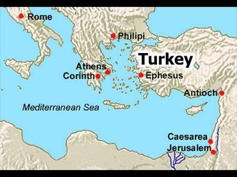Ephesus Map Location Youtube Map Pinterest Ephesus Ancient