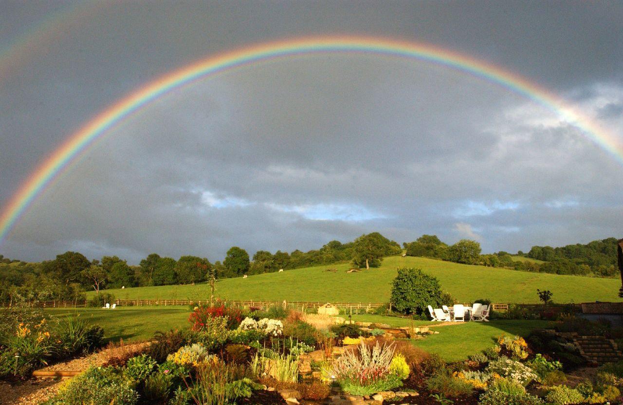 images of beautiful rainbows Free Wallpaper Beautiful