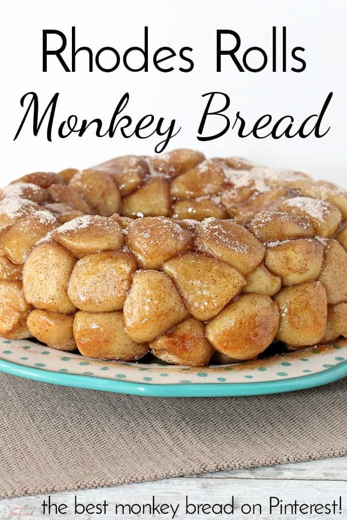 Rhodes Rolls Monkey Bread - Simple and Seasonal