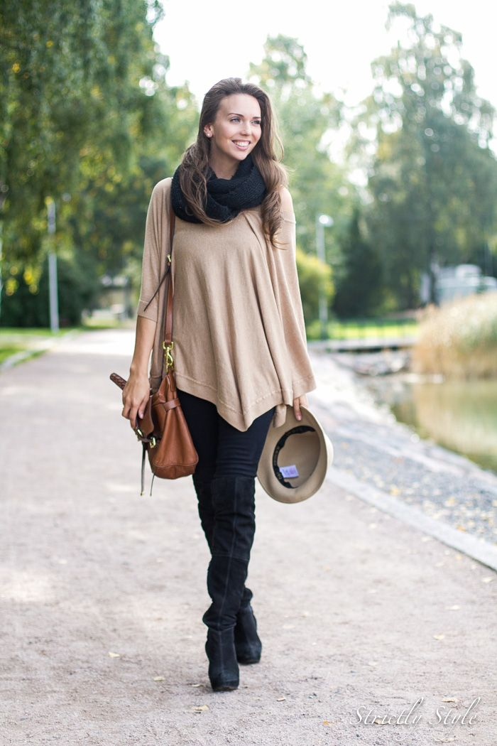 over the knee boots for fall ootd street style Stricly style blog