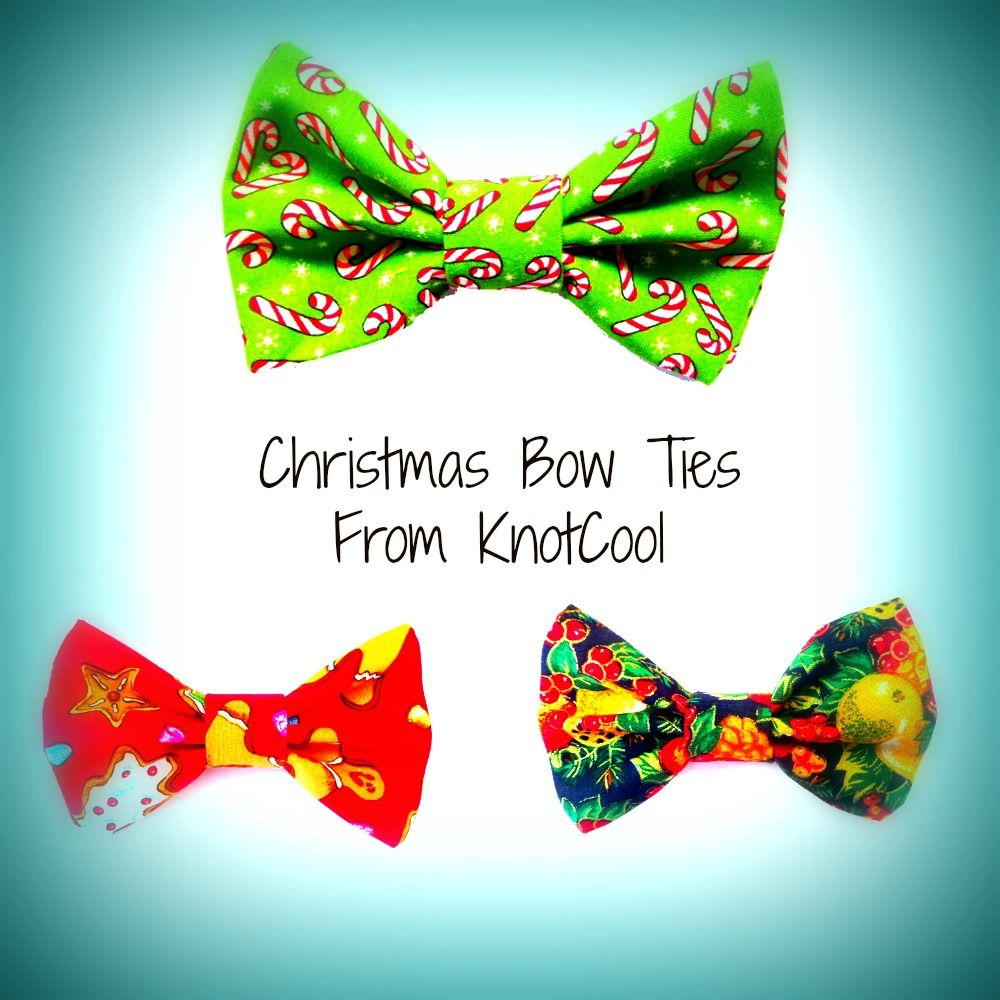 Quick look at these festive bow ties from KnotCool - check ...