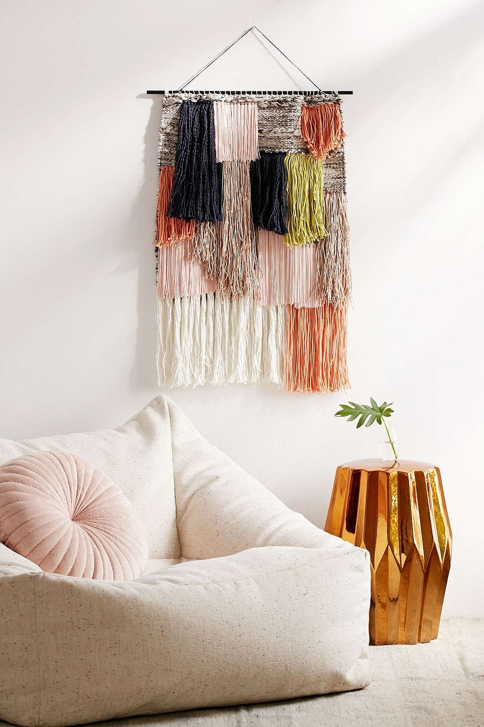 woven fringe wall hanging diy home decor bedroom decor on wall hangings id=65785