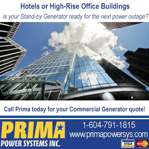 Is your Hotel or High-Rise Generator ready for the next power - commercial business form