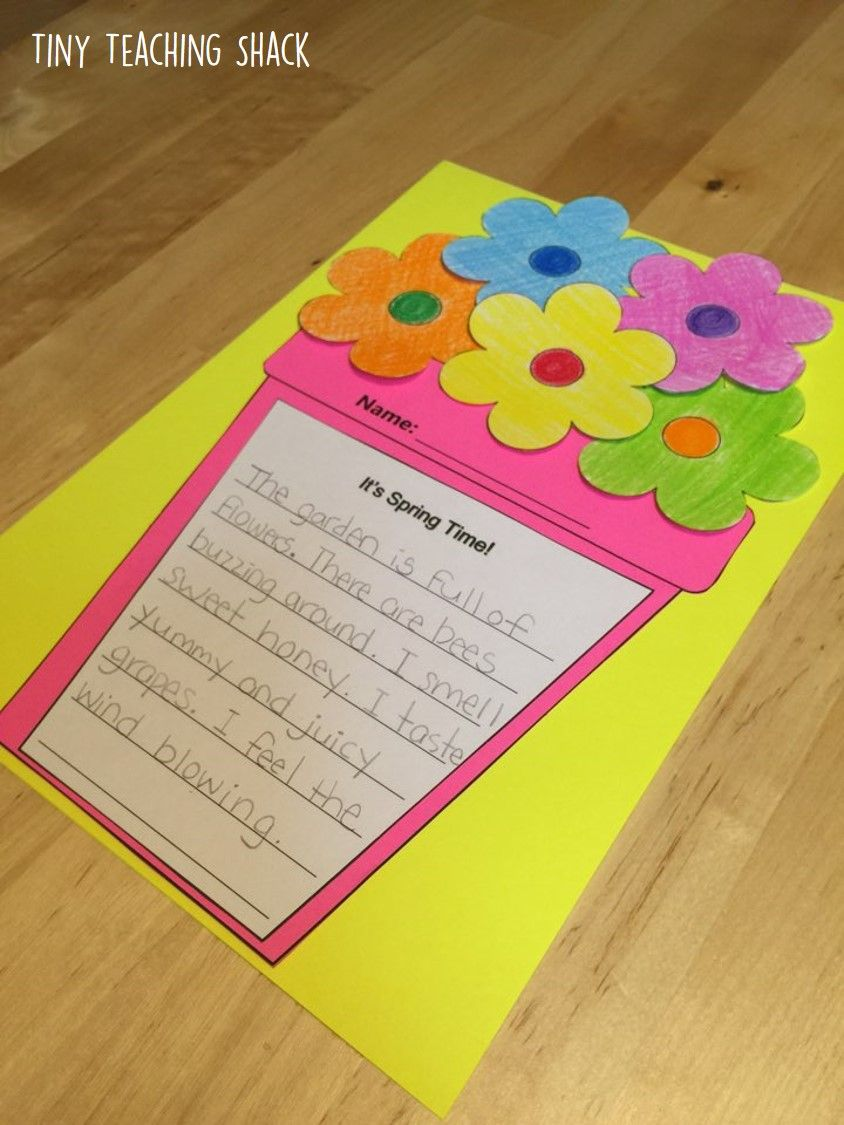Spring Descriptive Writing