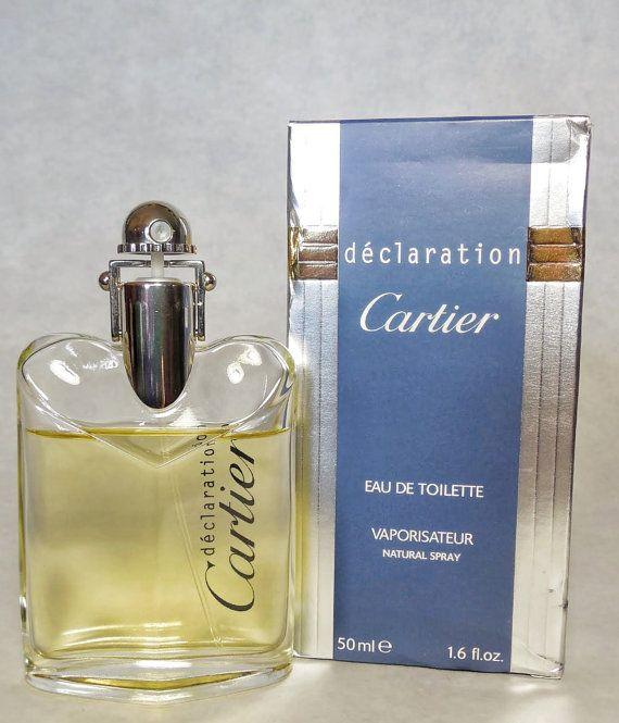 Vintage Cartier Original Fragrancewindow Declaration Edt Men's By WEQBCderxo