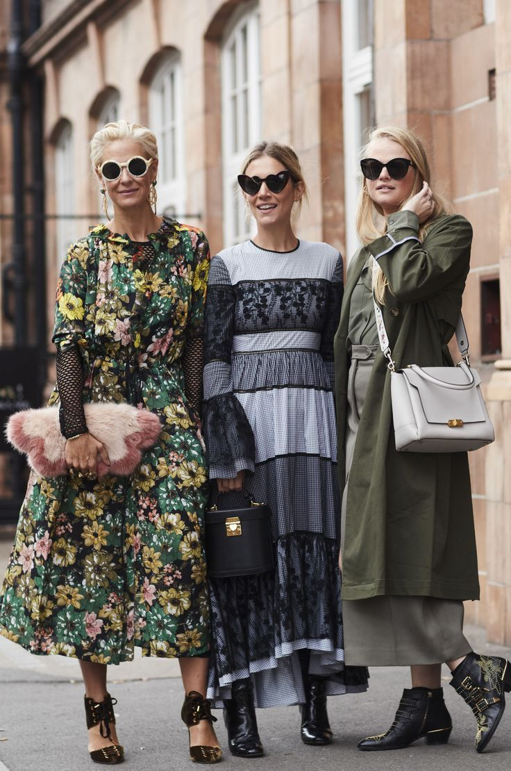 The best street style at london fashion week spring summer