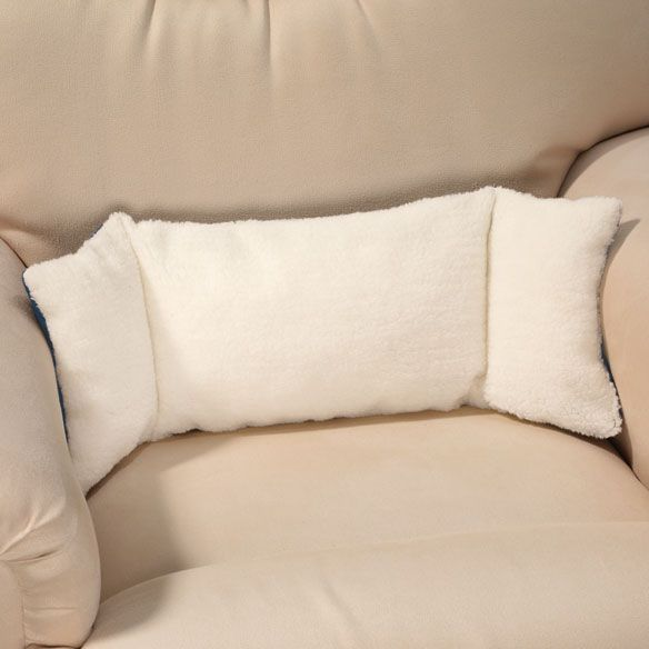 sherpa back support pillow awesome