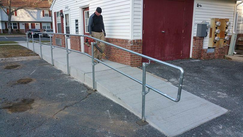 4 Common ADA Handrail Examples & How to Meet ADA Guidelines | ADA ...