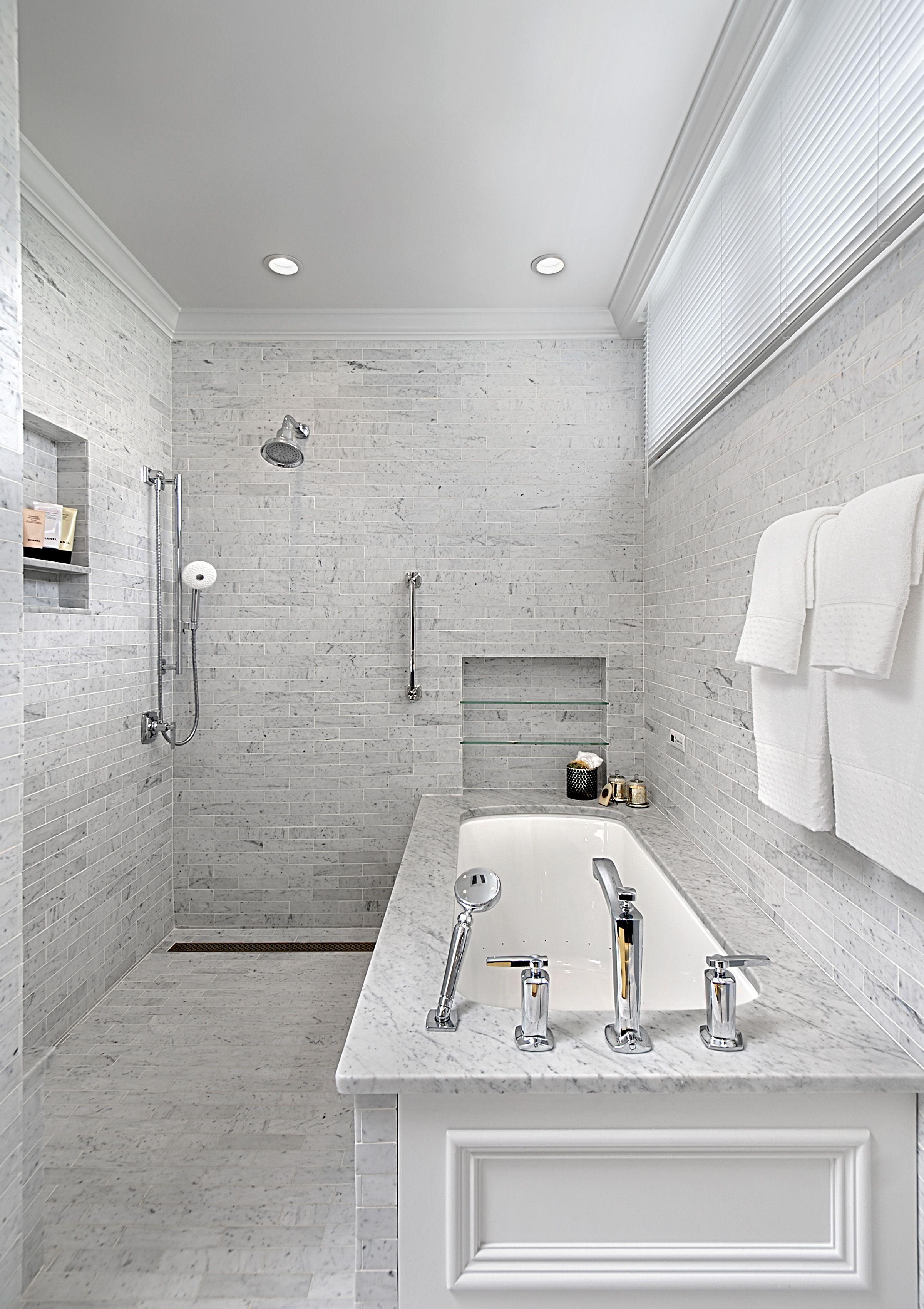Bathroom Remodel Chicago Gold Coast Bathroom Shower Design Doorless Shower Doorless Shower Design