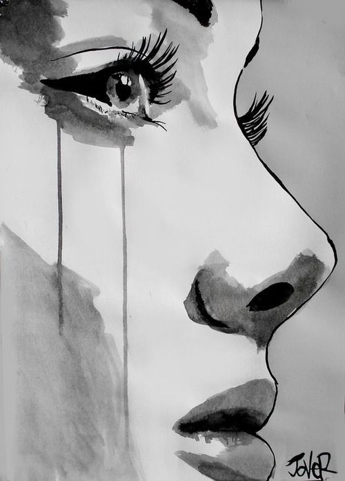 Saatchi art awakening drawing by loui jover black and white