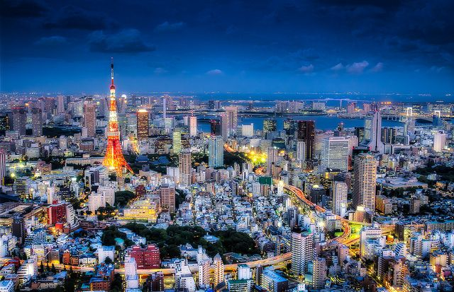 Tokyo Japan Backround Hd By Hatcher Sinclair
