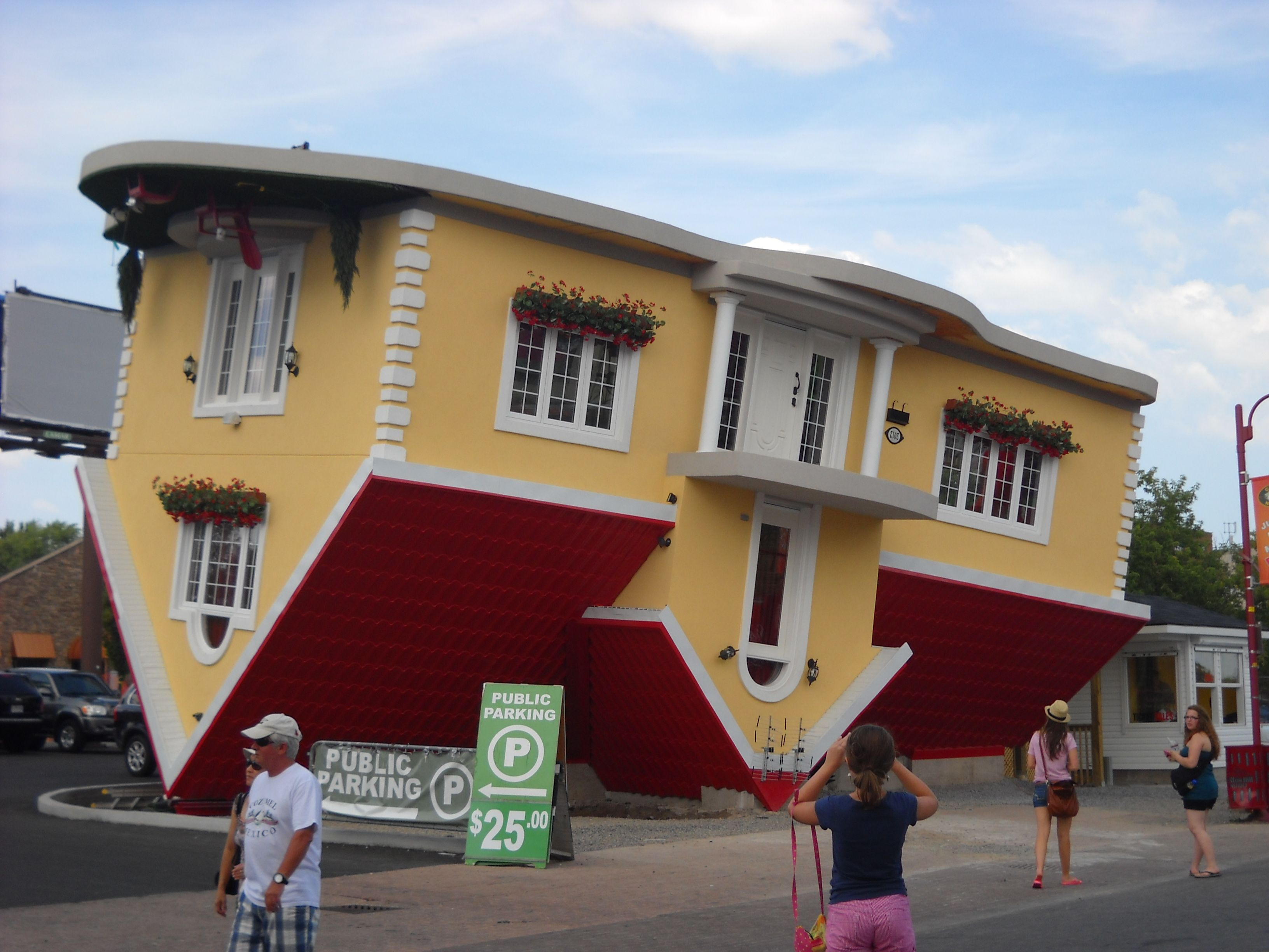 Amazing Upside Down House Architecture Ideas : Niagara Falls Upside on upside down exercise, upside down snowman, upside down sit-ups, upside down train, upside down ten mean, upside down dogs, upside down photography, upside down christmas,