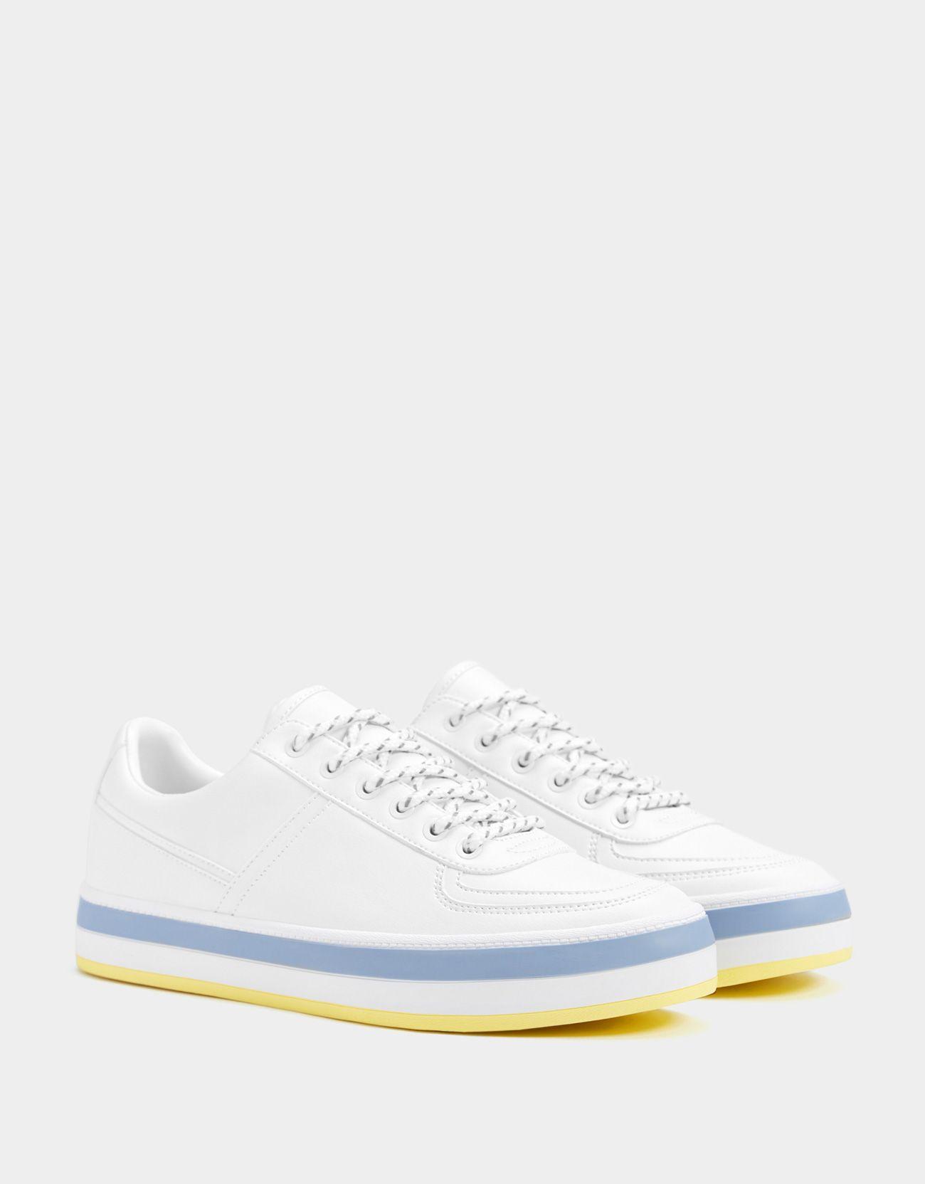 b8fa5d5a40fa کتونی سفید زنانه برشکا با کد 3067185 #کفش #اسنیکر Air Force Sneakers, Nike