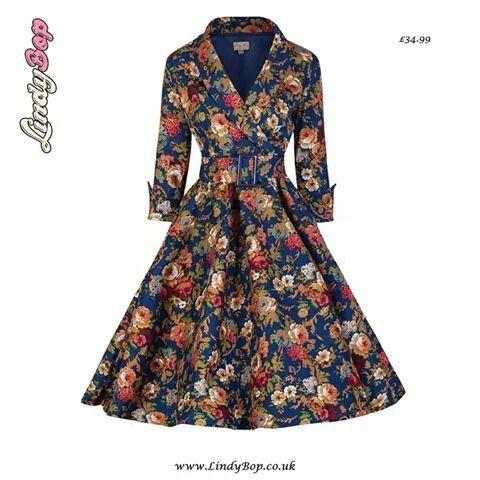 8bea4b69c231a vintage   Estampa Floral   Pinterest   Dresses, Vintage dresses e ...