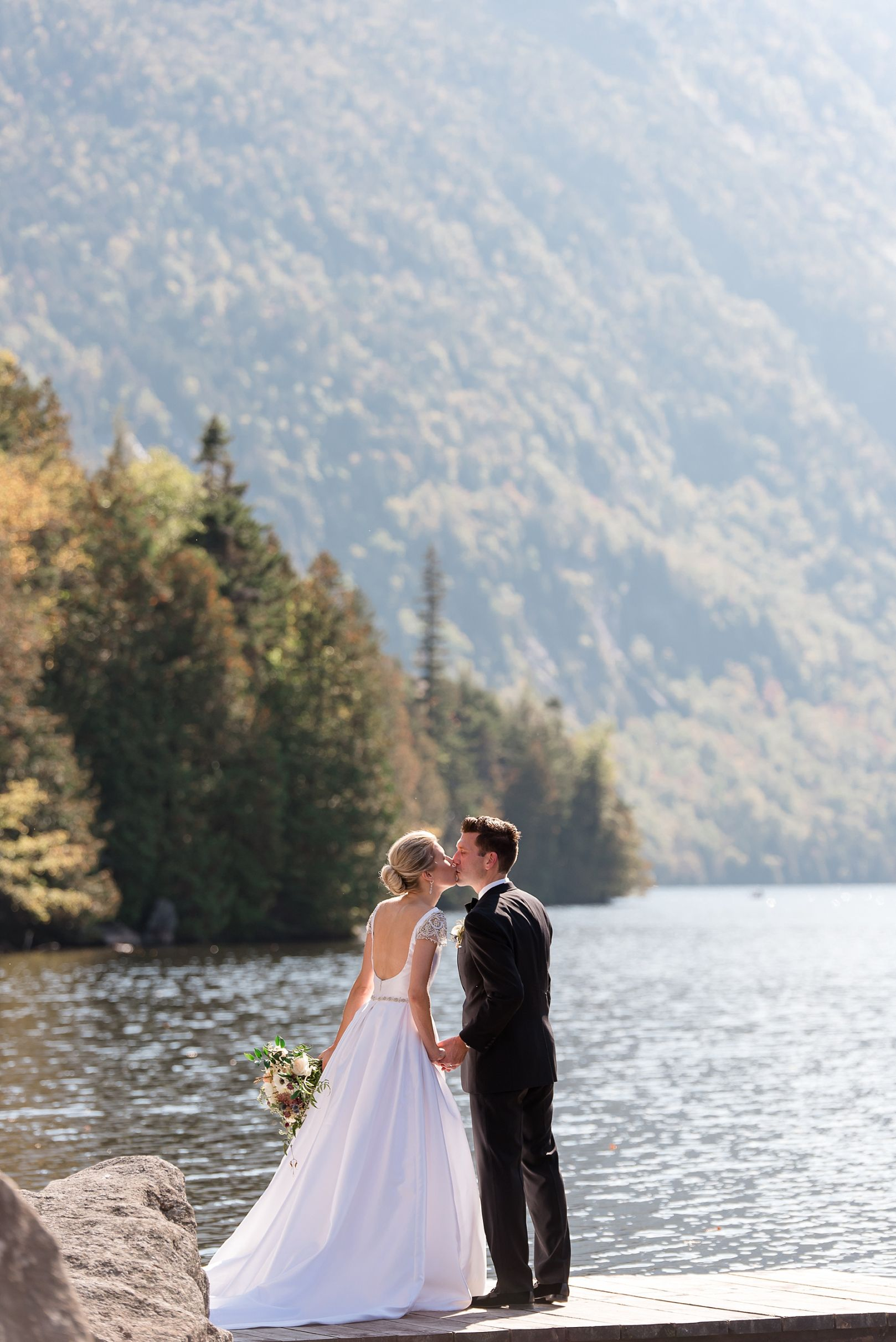 Adirondack Wedding at the Ausable Club in the Fall Fall