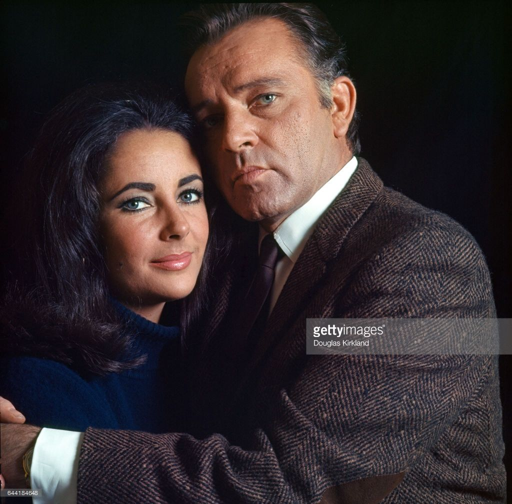 Elizabeth Taylor and Richard Burton #hollywoodlegends