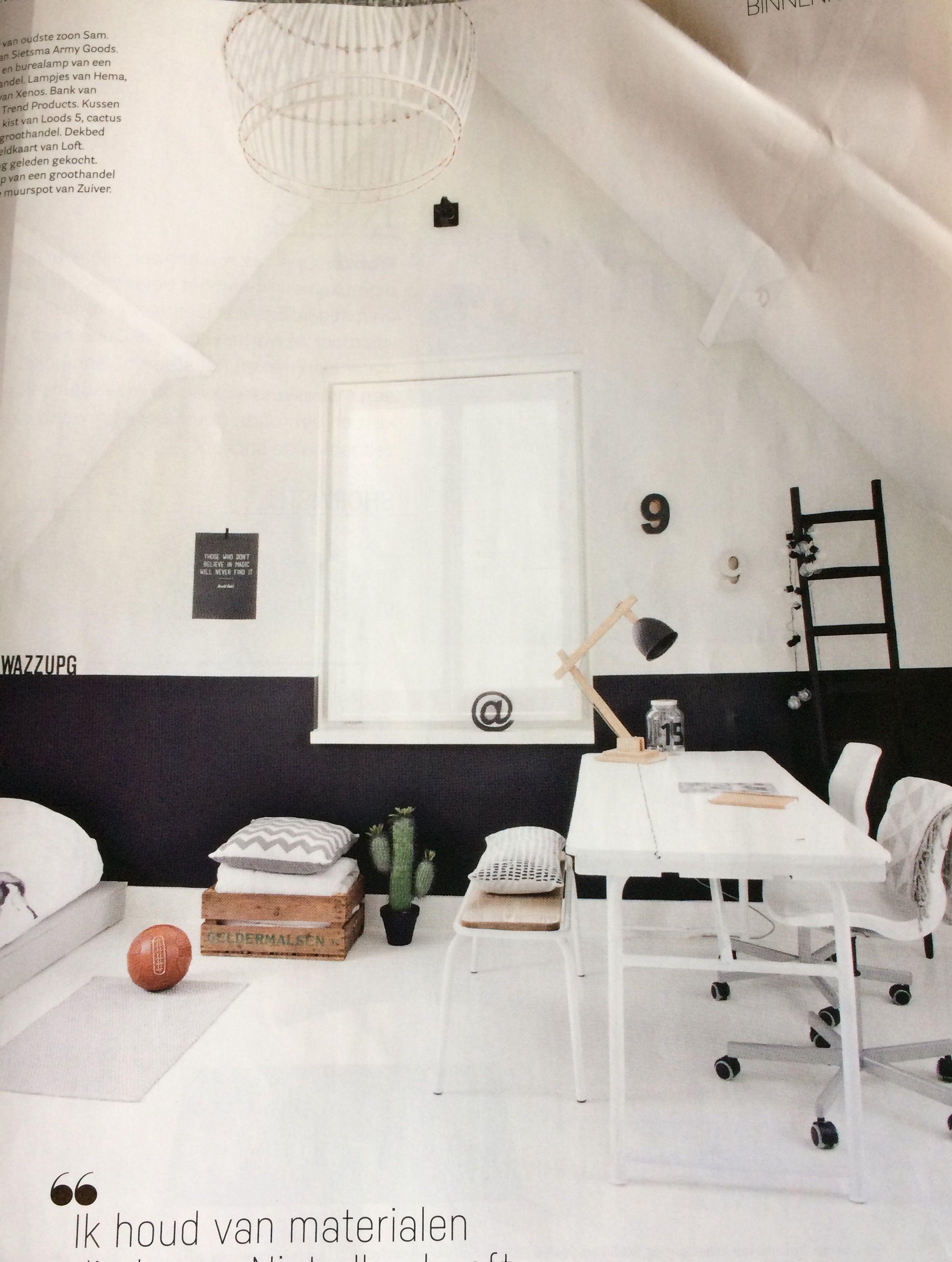 Zwart Muurverf zwart/wit slaapkamer - Huis * Slaapkamer(s ...