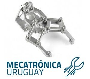 Garra Robótica, ideal para Mecatrónica, en Uruguay