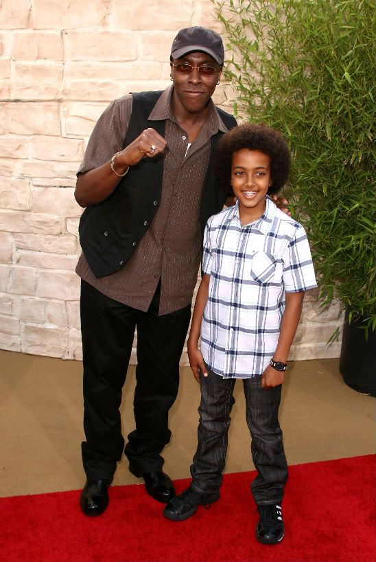 Arsenio Hall and his son | Celebrity families, Celebrity ...