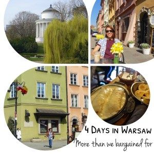 Here's everything you can get up to in Warsaw in 4 days. Poland, Europe