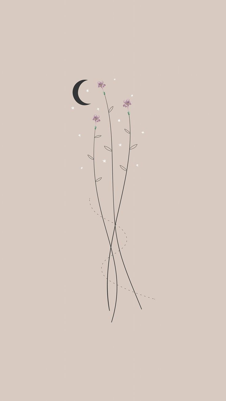 500+Download premium vector of Flowers and the moon mobile phone wallpaper vector by marinemynt about wallpaper, boho, moon, iphone wallpaper, and bohemian 1227217   Wallpaper iphone boho, Simple iphone wallpaper, Iphone wallpaper hipster