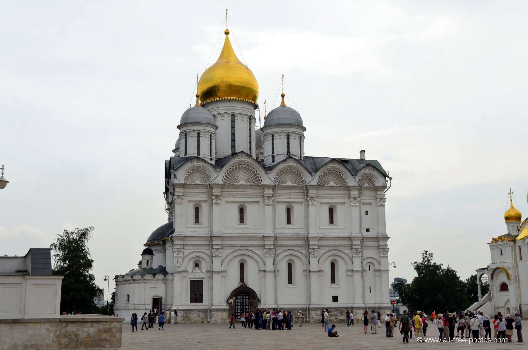 Archangel Cathedral of the Moscow Kremlin: description, architecture 95