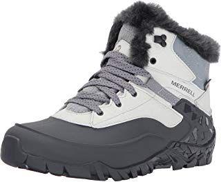 Damen Merrell Aurora 6 Ice+ WTPF Black Schwarz Stiefel