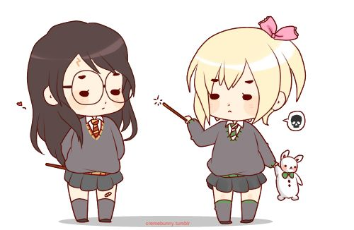 Genderbend Harry and Draco