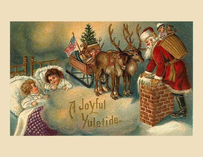 рождественские открытки шотландии гарантии