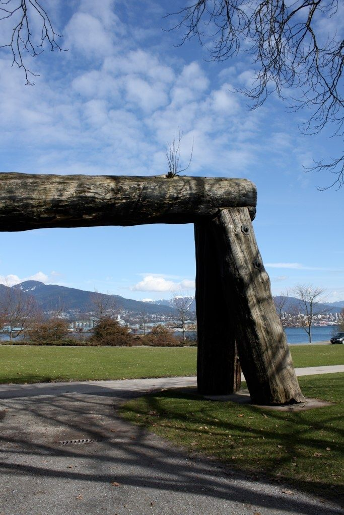 SIGHTS. Lumberman's Arch. The Lumberman's Arch in Stanely Park is constructed from the trunk of a massive old growth tree like those that were logged in the area.