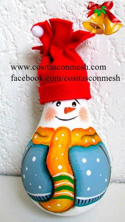 Manualidades con material reciclado para navidad for Manualidades para adornos navidenos