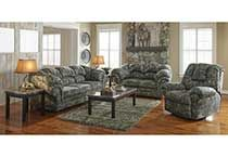 Excellent Cheyenne 2 Piece Sofa And Loveseat In Camouflage Arrons Theyellowbook Wood Chair Design Ideas Theyellowbookinfo