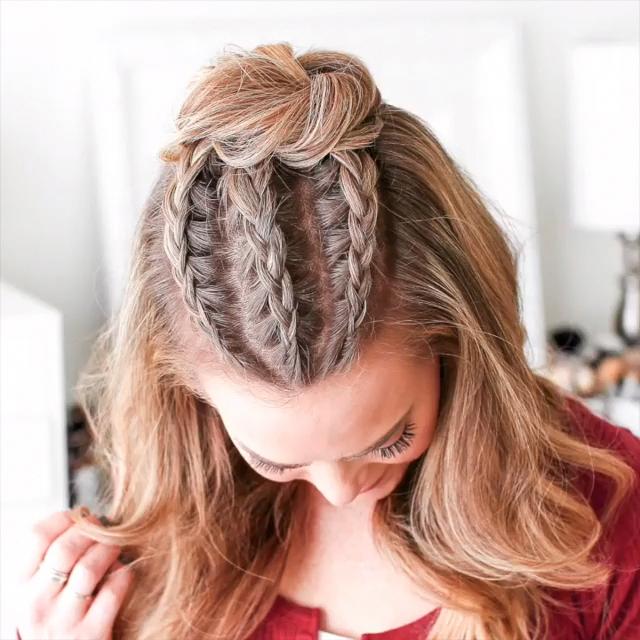 27+ Video de coiffure tresse facile idees en 2021