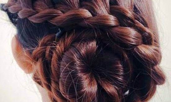 Loading Bun Hairstyles Waterfall Braid Hairstyle Diy Hairstyles