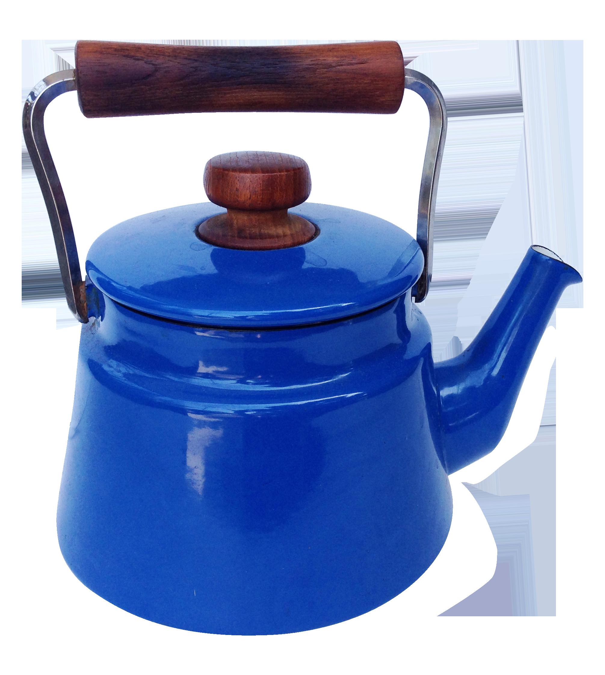 jens quistgaard blue dansk kobenstyle tea kettle  Ürünler Çaylar  - jens quistgaard blue dansk kobenstyle tea kettle on chairishcom