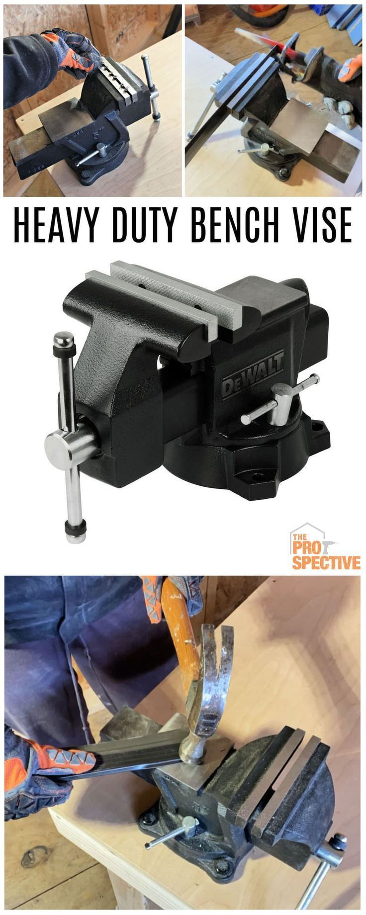 Heavy Duty Bench Vise in 2020 Bench vise, Heavy duty, Vise