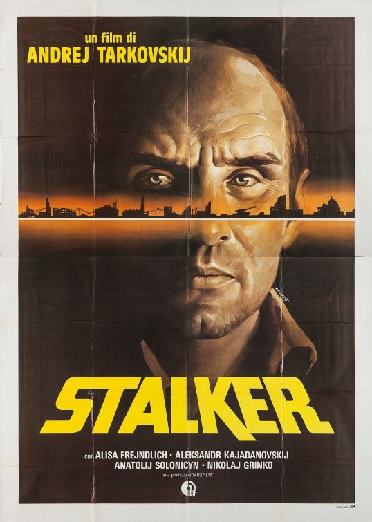 Click To View Extra Large Poster Image For Stalker Movie Posters Vintage Movie Posters Alternative Movie Posters