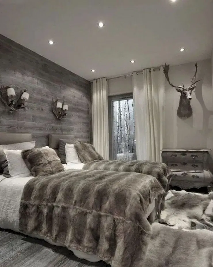 47 Beautiful Rustic Bedroom Ideas To Liven Up Your Boring Room 21