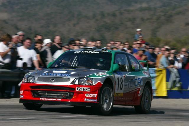 Hyundai WRC Freddy Loix.